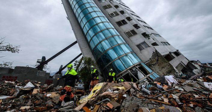 Conséquences d'un séisme à Taiwan