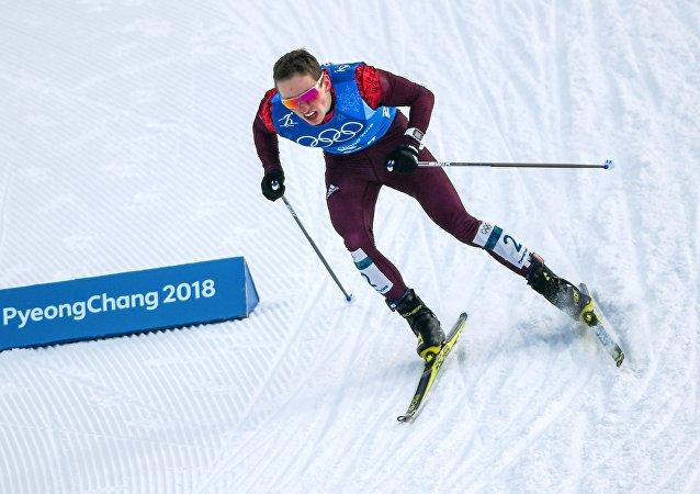 Denis Spitsov lors du relais