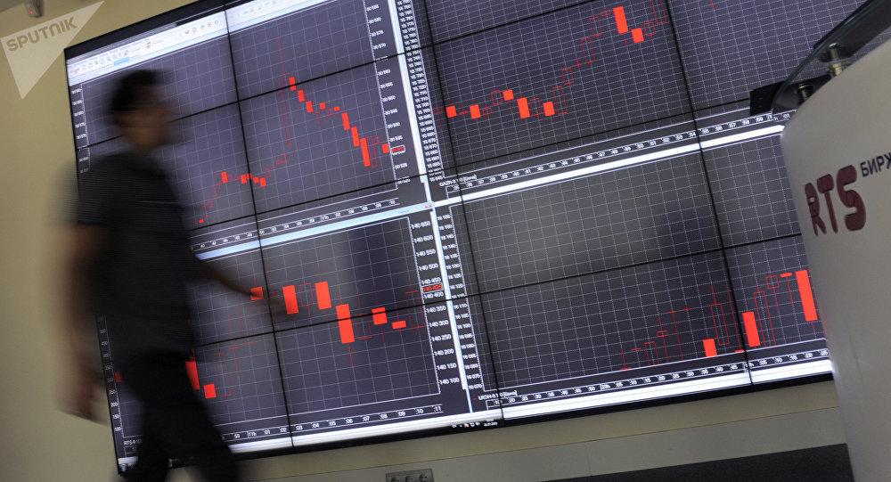 La bourse russe RTS