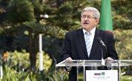 Le Premier ministre algérien Ahmed Ouyahia