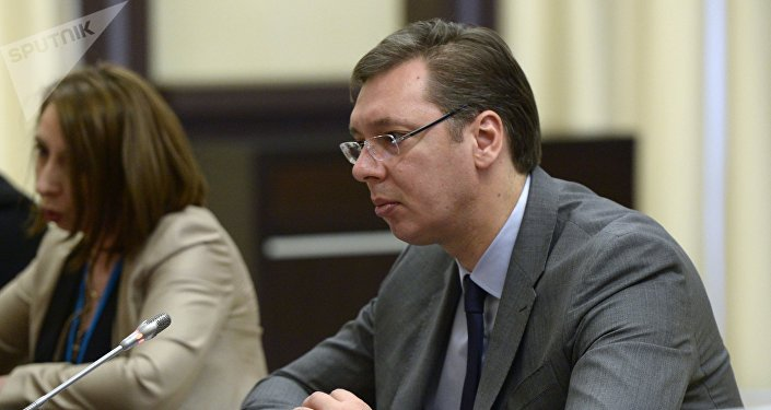 Aleksandar Vucic (archives)