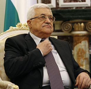 Le dirigeant palestinien Mahmoud Abbas