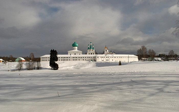 Le monastère de Saint-Alexandre de Svir