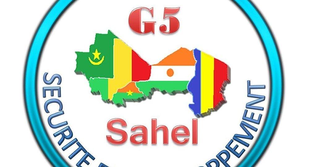 Logo Officiel du Secrétariat permanent du G5 Sahel