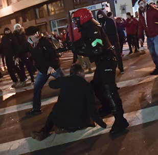Heurts entre supporters et police à Bilbao