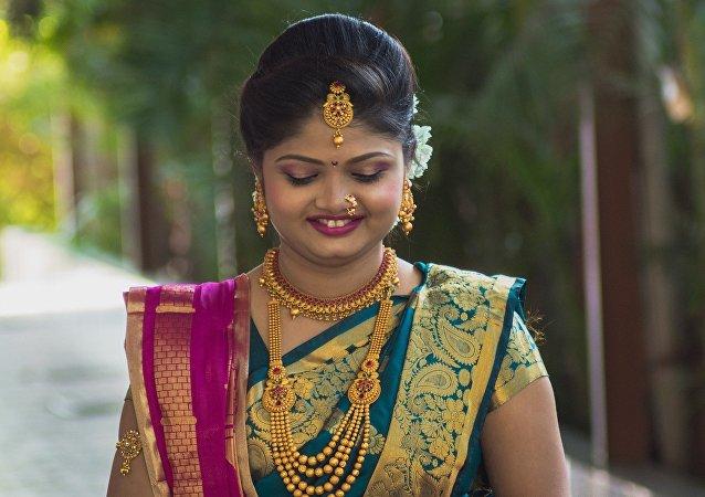 Une fiancée indienne