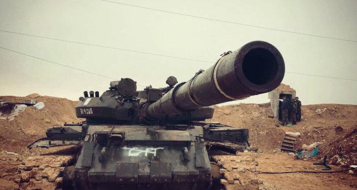 Un char syrien