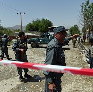 la police afghane