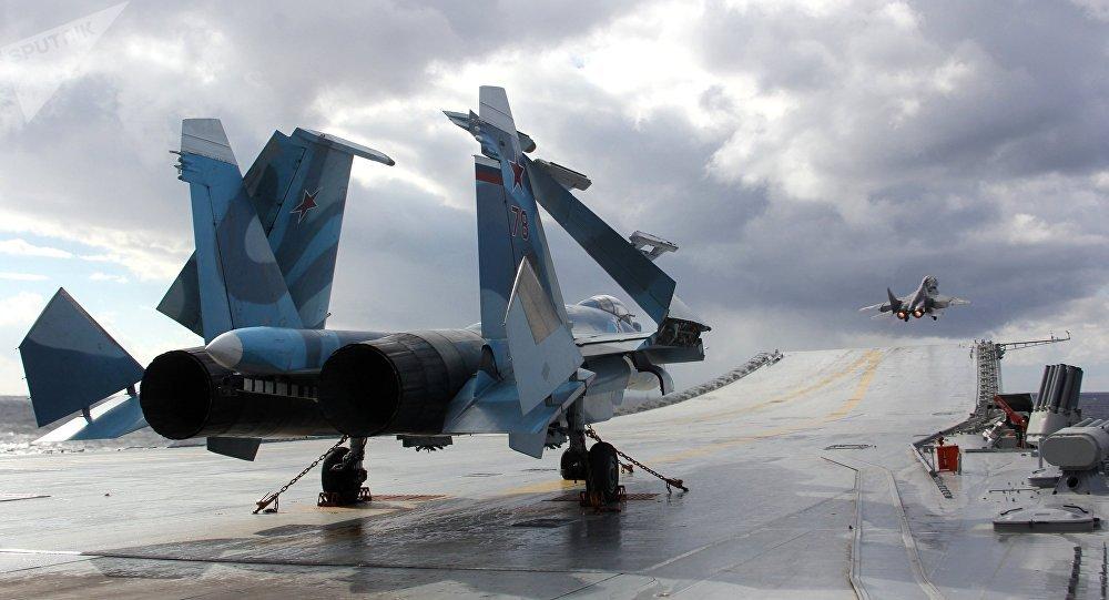 Les param tres d 39 un nouveau porte avions russe d voil s sputnik france - Nouveau porte avion francais ...