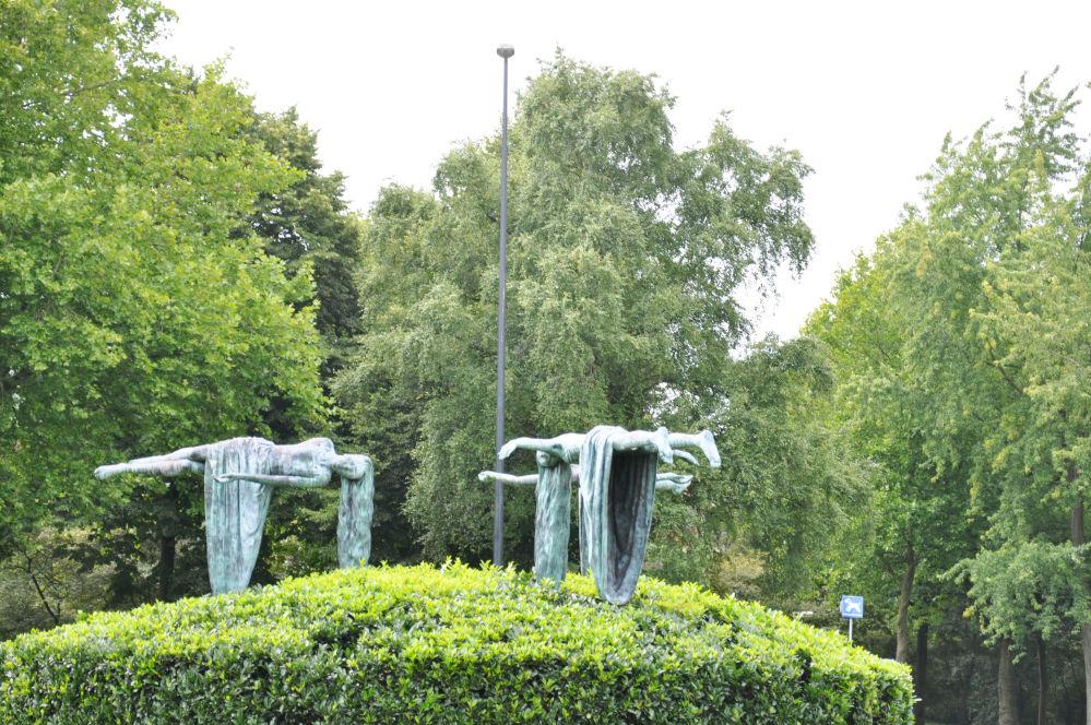 Des sculptures qui font tourner la tête
