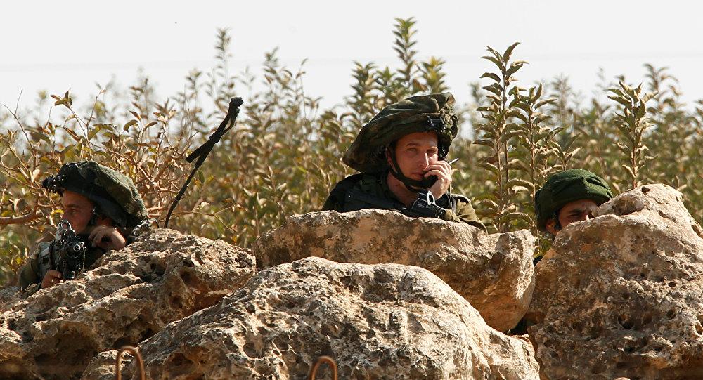 Les soldats israéliens