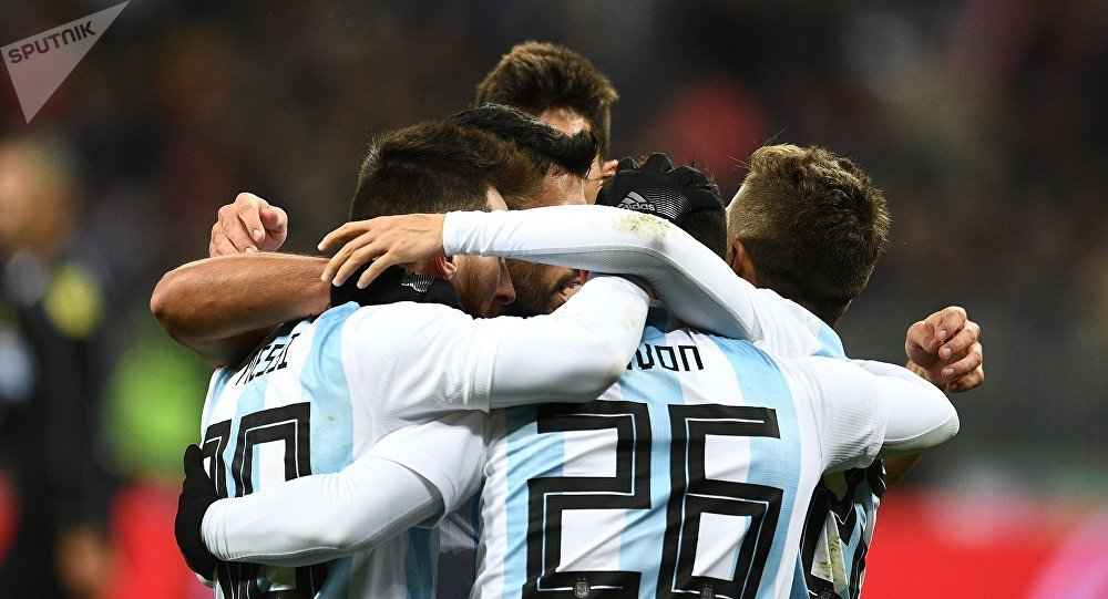 La sélection d'Argentine, football