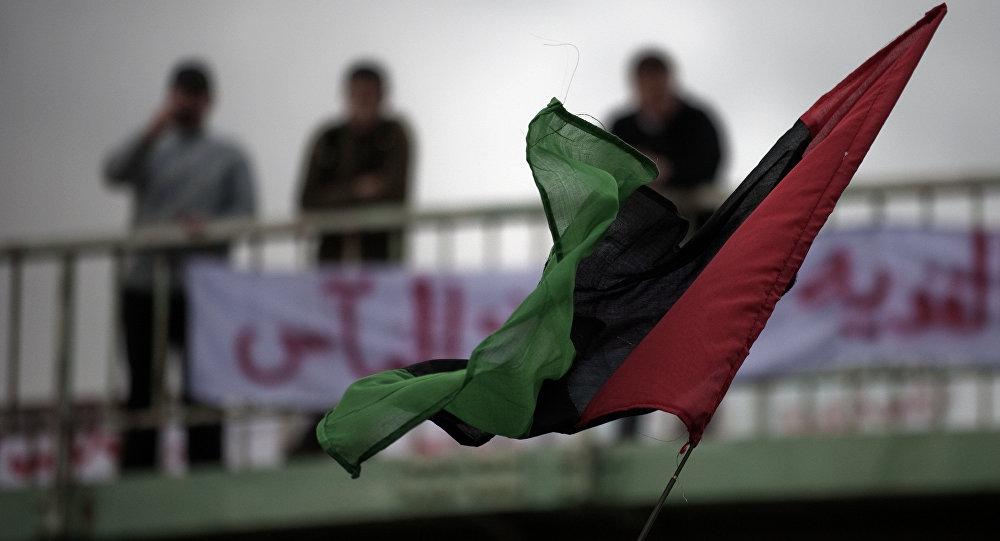 Drapeau libyen