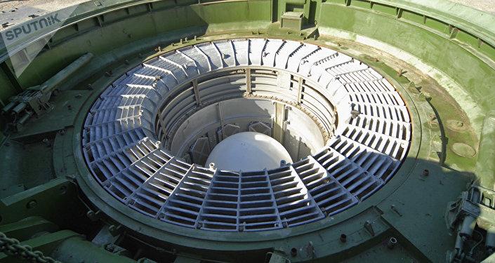 Missile Sarmat en silo