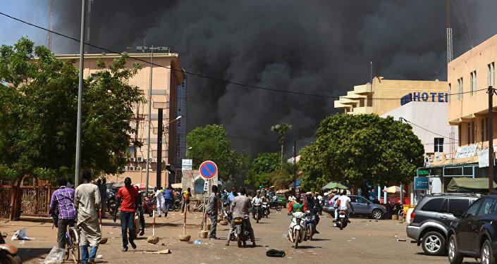 L'explosion au Burkina Faso