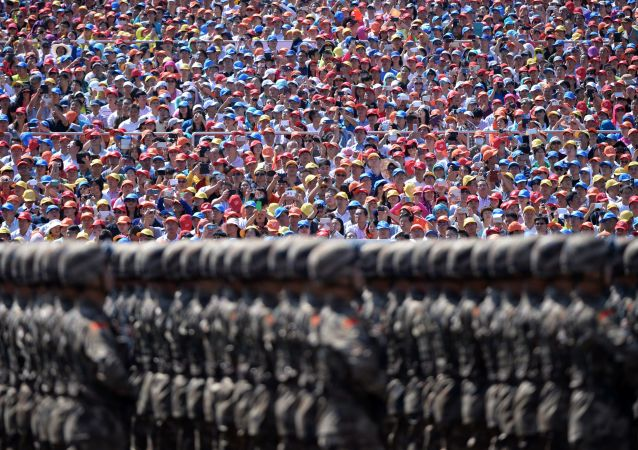 Un défilé militaire à Pékin
