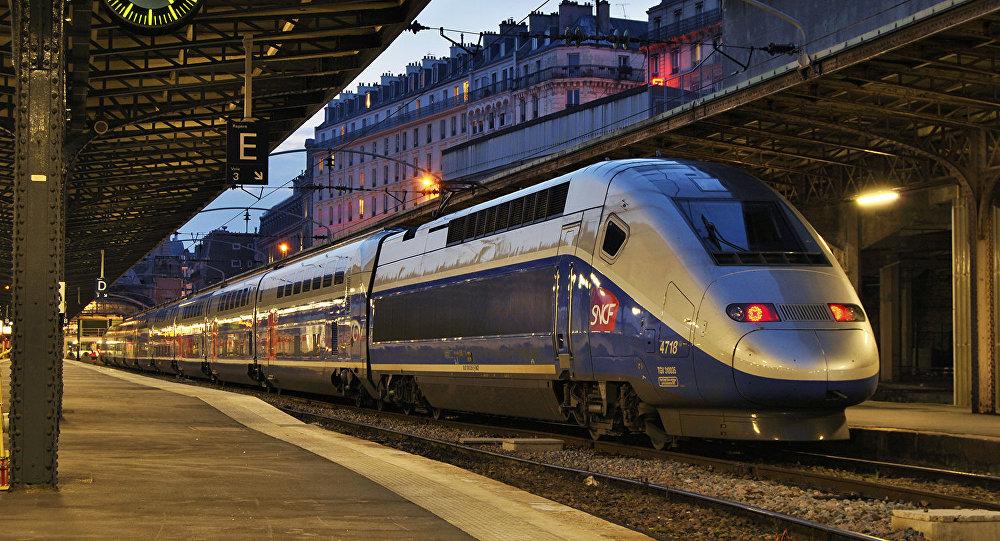 Un train de la SNCF