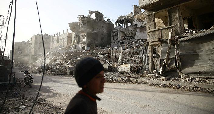 La ville de Douma