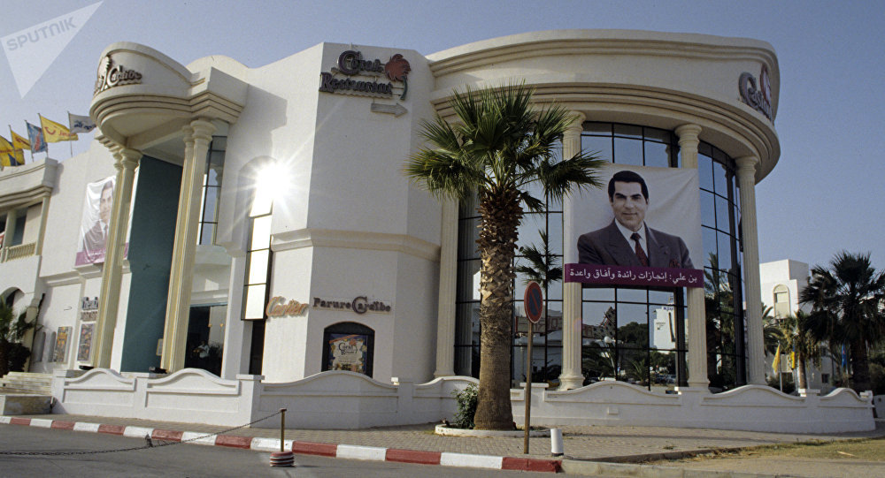 L'ex-Président tunisien Zine El-Abidine Ben Ali