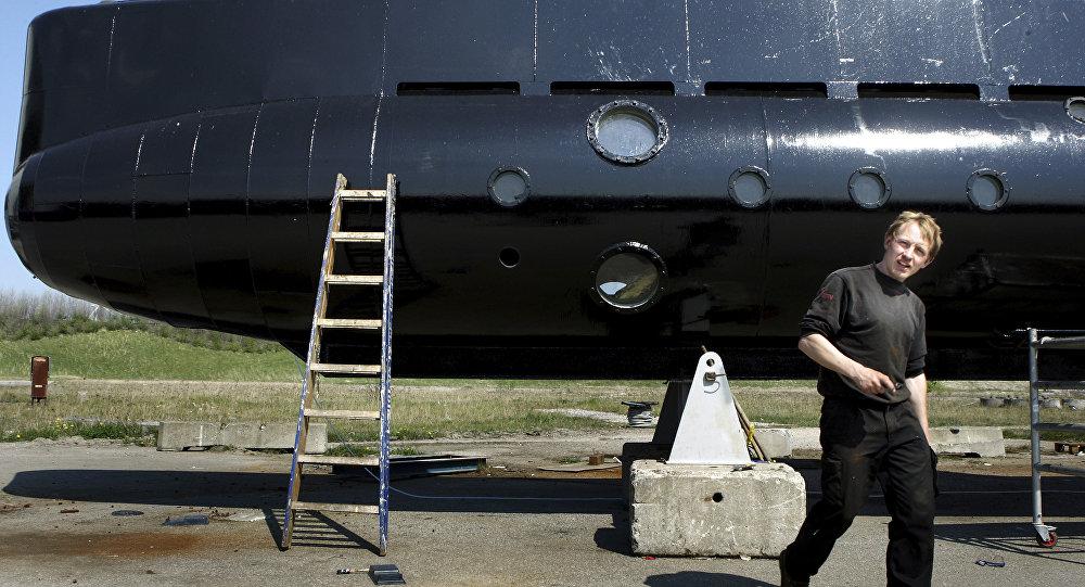 Créateur du sous-marin Nautilus Peter Madsen. Archive