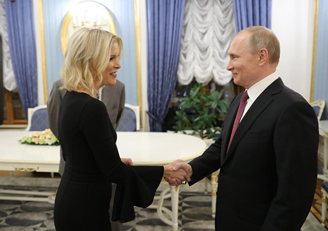 Vladimir Poutine et Megyn Kelly