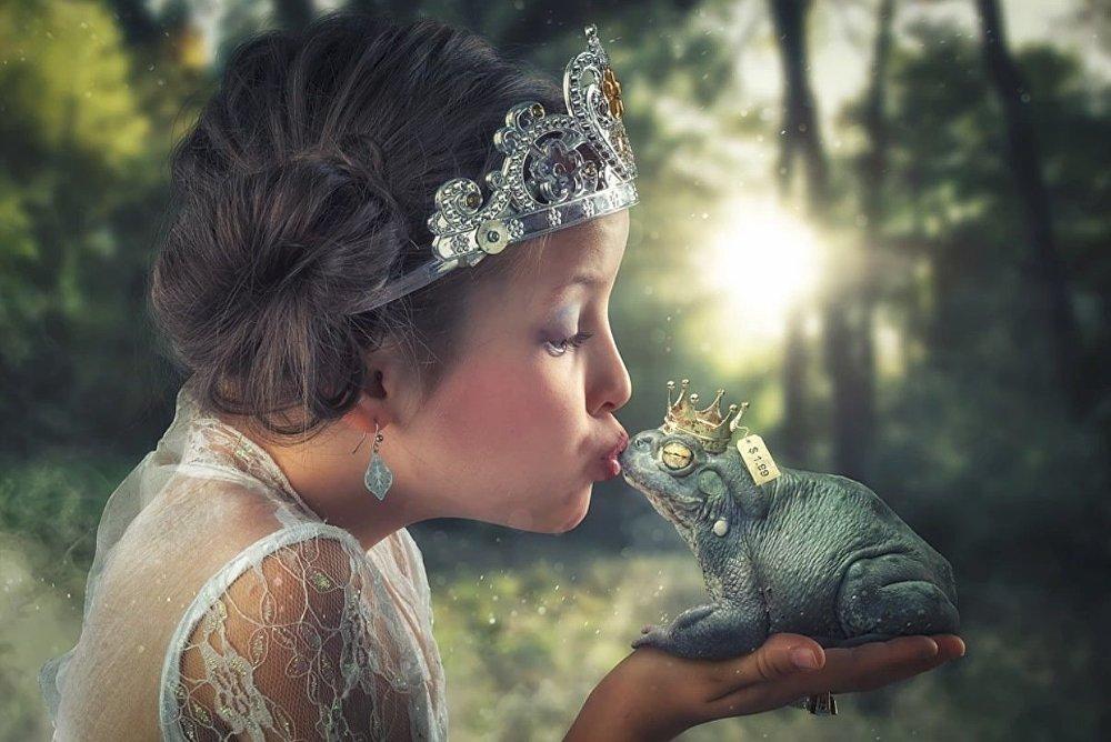 Embrasse un faux prince-grenouille