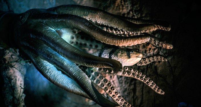 Un monstre / image d'illustration