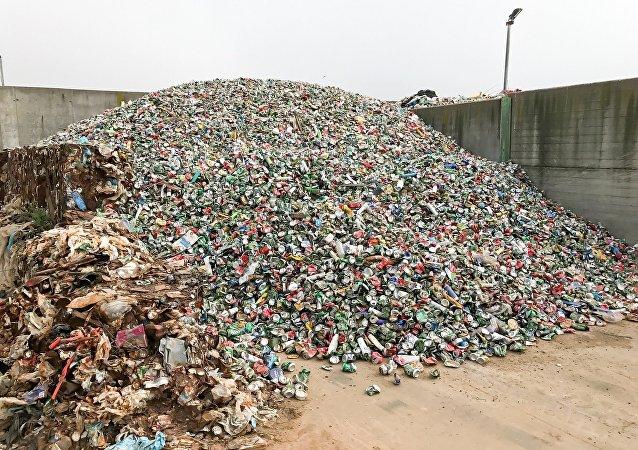 déchets d'aluminium