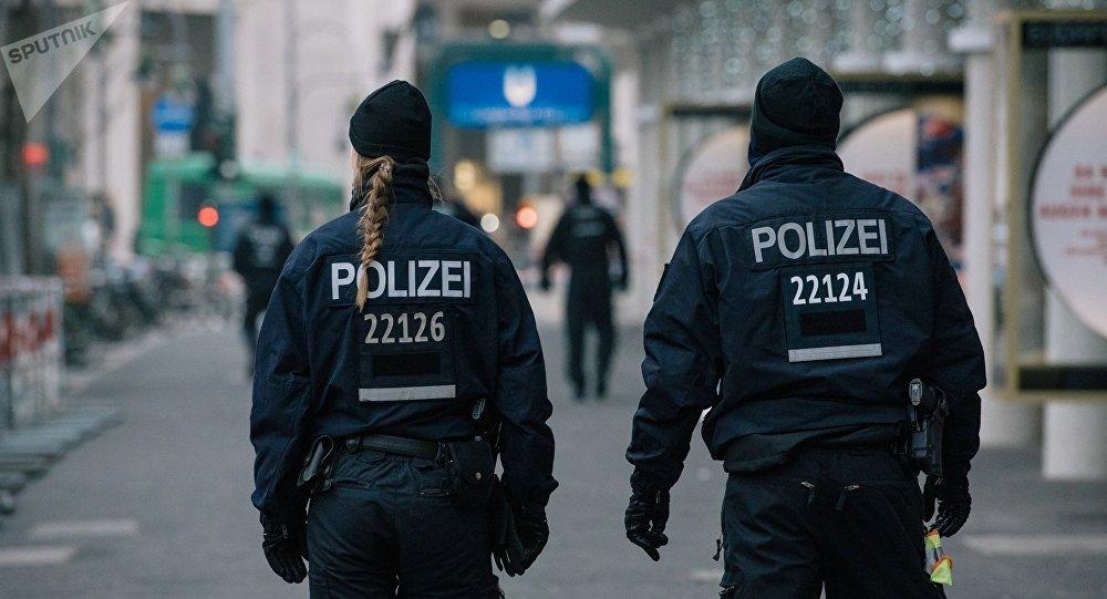 des policiers allemands (images d'illustration)