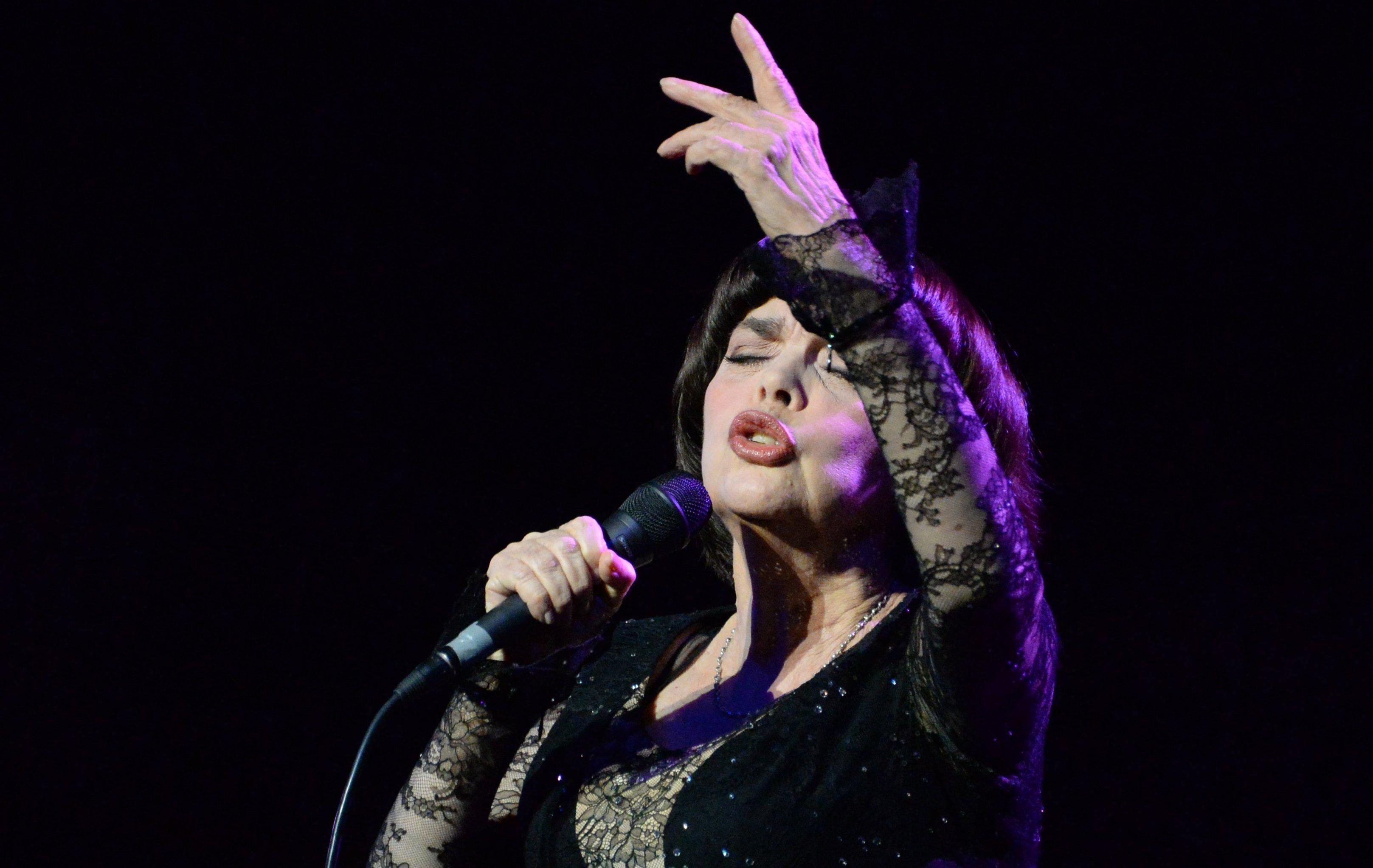 Концерт французской певицы Мирей Матьё в Москве