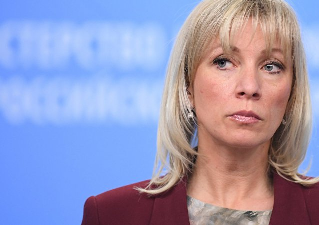 Maria Zakharova, la porte parole de la diplomatie russe