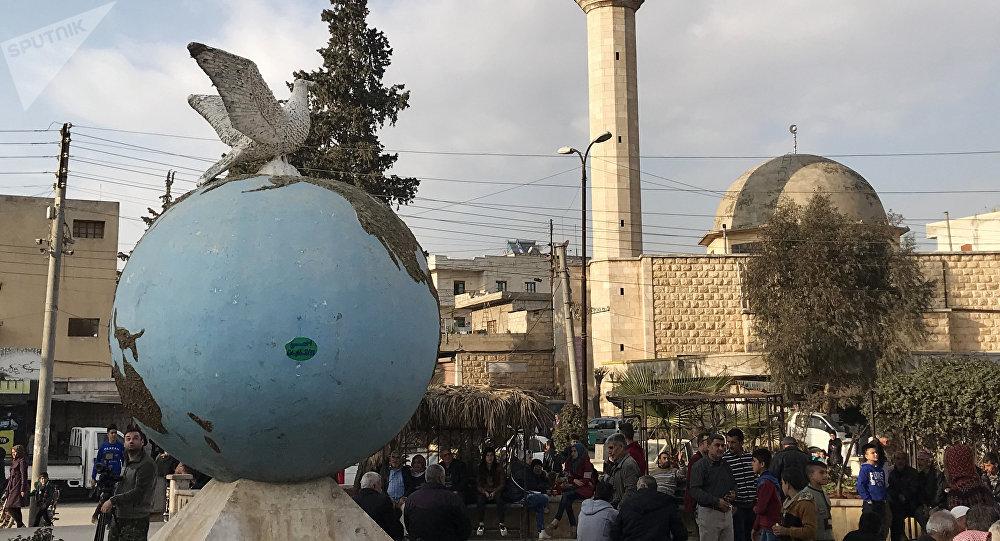 Les forces turques et leurs alliés entrent dans la ville d'Afrine — Syrie