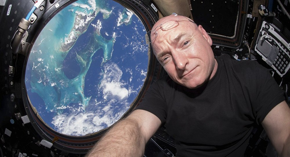 Astronaut américain Scott Kelly