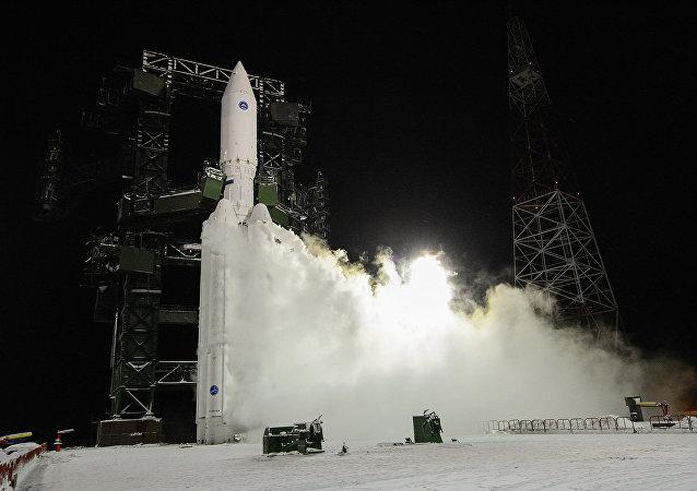 Tir d'une fusée russe Angara-5