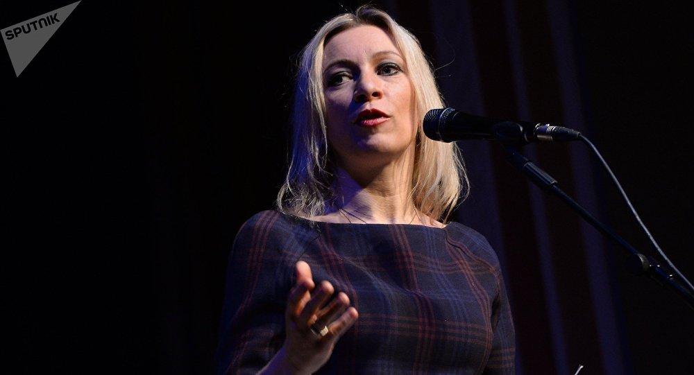 María Zakharova, porte-parole du ministère russe des Affaires étrangères