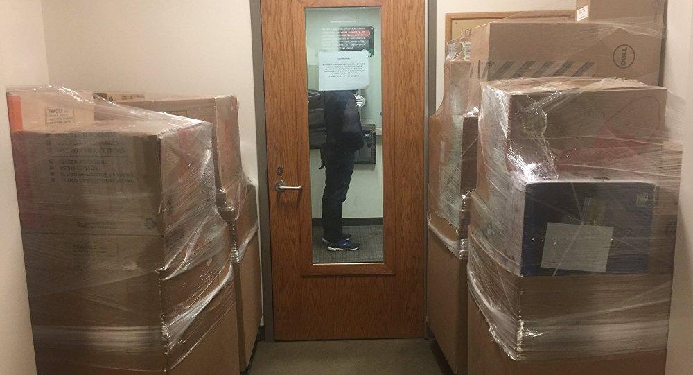 Le Consulat général russe à Seattle fermé, les diplomates quittent les locaux