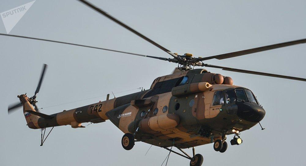 Un hélicoptère Mi-17 (image d'illustration)