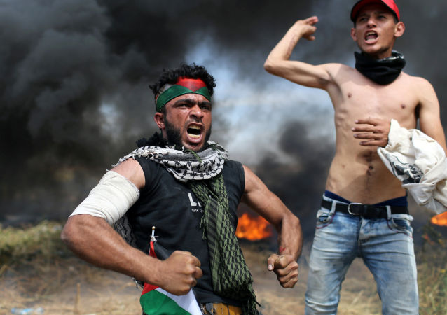 Les manifestations à la frontière entre la bande de Gaza et Israël