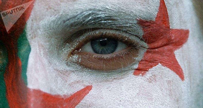 Couleurs du drapeau algérien