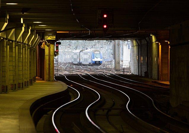 Des voies ferrées