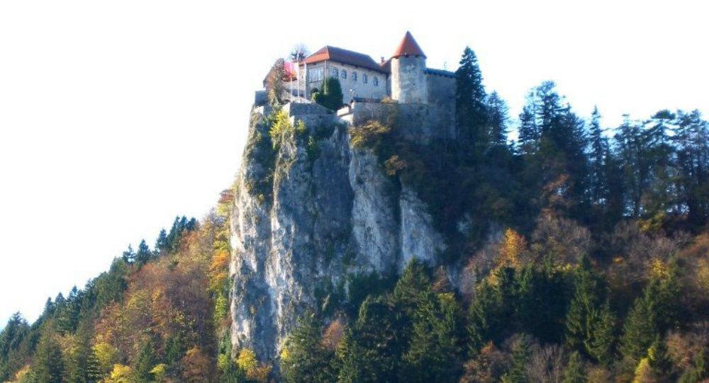 château de Bled, en Slovénie