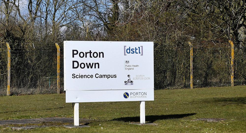 Le laboratoire UK de Porton Down