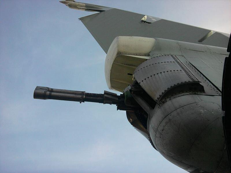 GSh-23 dans le système de tir sévère Tu-22M