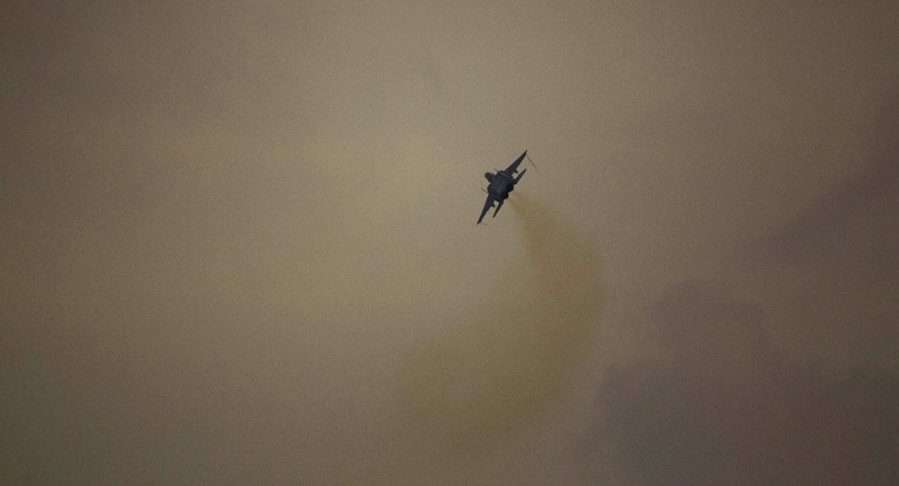 Un avion de chasse de l'armée de l'air israélienne
