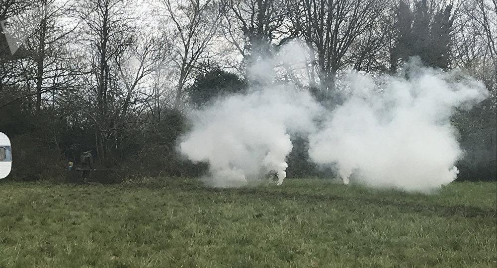 Expulsion de zadistes à Notre-Dame-des-Landes (9 avril 2018)