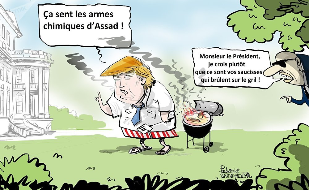 Les Etats-Unis sont convaincus que des armes chimiques ont été utilisées dans la ville syrienne de Douma.