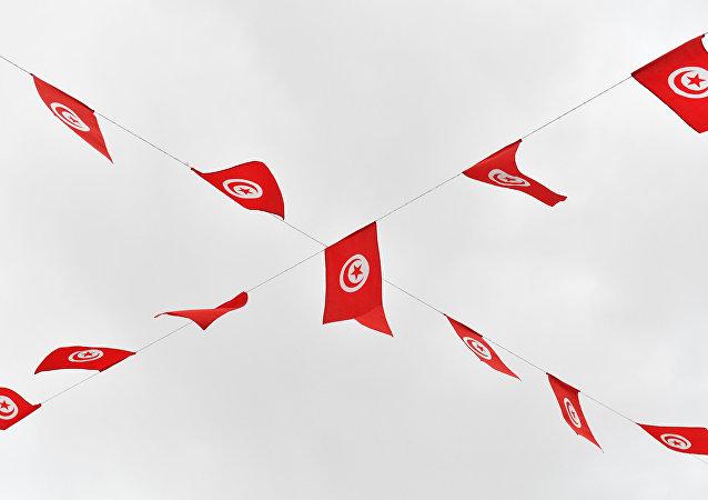 Drapeaux de la Tunisie