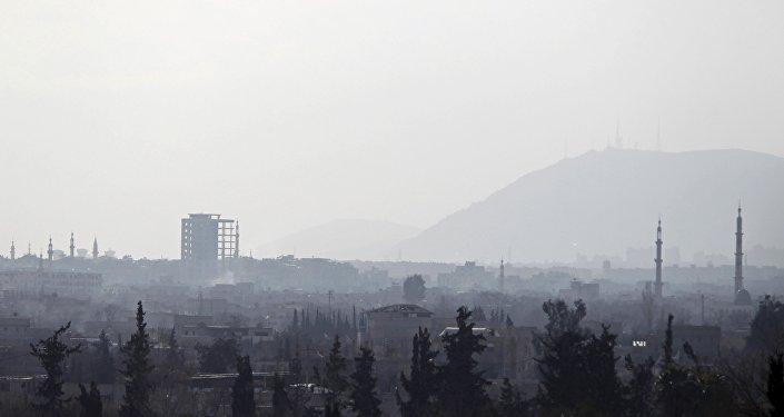 Douma, une banlieue de Damas