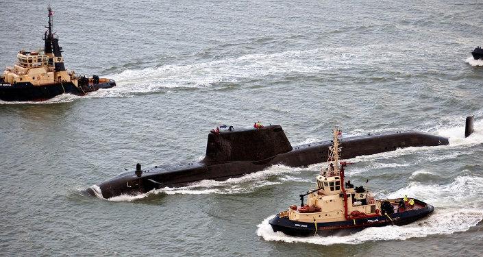 Le sous-marin britannique HMS Astute