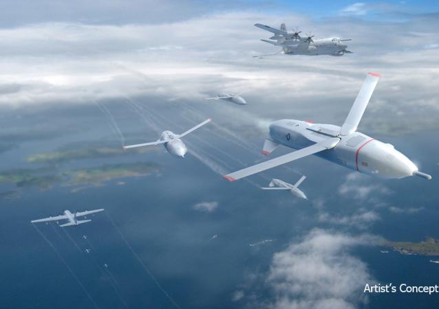 Drones Gremlin (vue d'artiste)